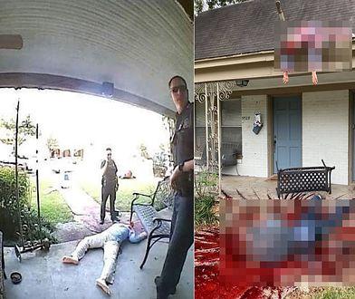 Policja została wezwana na miejsce masakry. Czekała ich niespodzianka [+18]