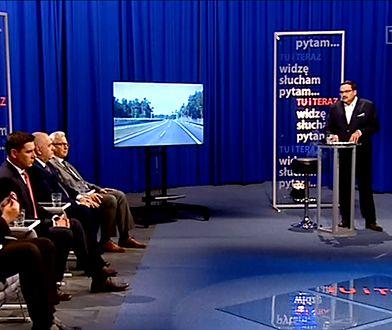 Debata w studiu TVP 3 wywołała wiele kontrowersji