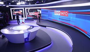 Wybory do europarlamentu. Studio TVP Info