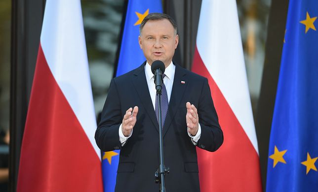 Andrzej Duda o sytuacji na granicy z Białorusią. Zapowiedział przedłużenie stanu wyjątkowego