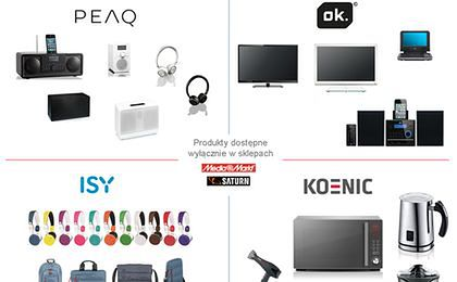 Media Markt i Saturn mają aż cztery marki własne