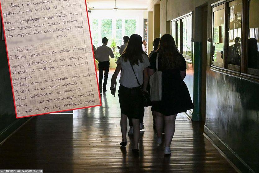 10-latek napisał list do dyrektorki. Zwrócił uwagę na łamanie praw ucznia