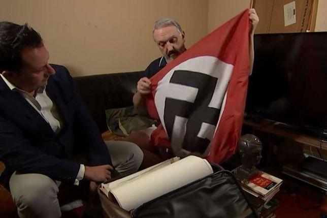 Kevin Wilshaw podczas wystąpienia na kanale Channel 4.