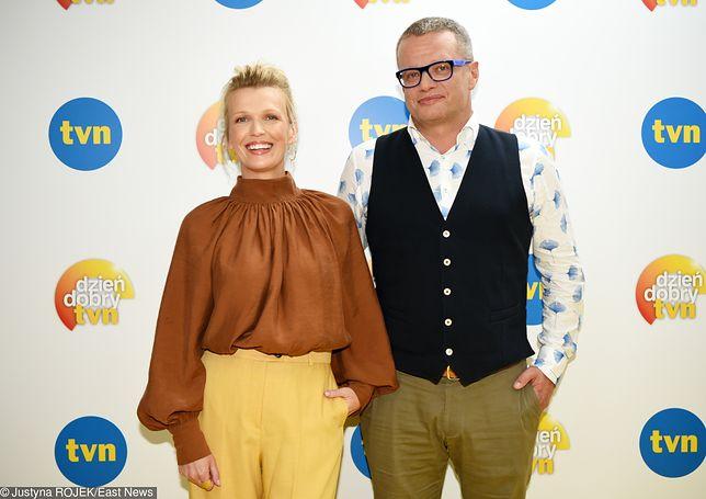 Magda Mołek i Marcin Meller