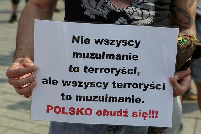 Nie chcą w Polsce imigrantów