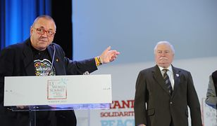Jerzy Owsiak, Lech Wałęsa, 2013 r.
