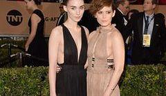 Kate i Rooney Mara na rozdaniu nagród SAG Awards