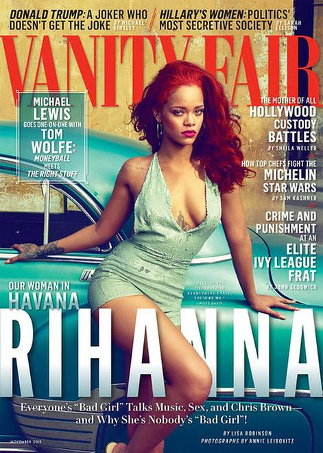 "Rihanna w sesji dla ""Vanity Fair"""