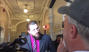 Michael Rontodo chętnie udzielał wywiadów
