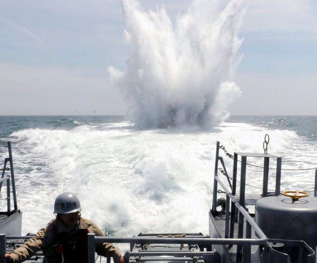 Siły morskie Korei Południowej oddały strzały ostrzegawcze
