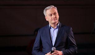 Mocny wpis Roberta Biedronia. Na grafice Jarosław Kaczyński