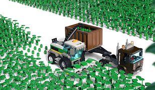 Ekologiczne klocki LEGO.