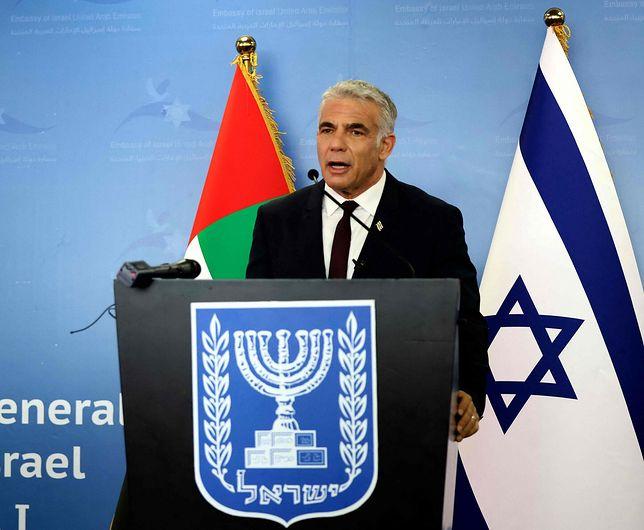 Szef MSZ Izraela Yair Lapid podkreśla pogorszenie stosunków z Polską