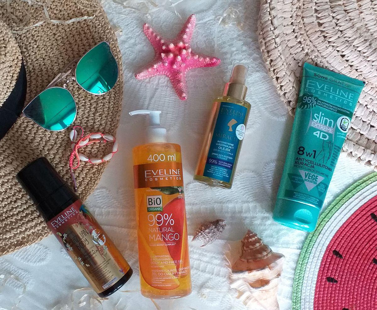 Test kosmetyków Eveline Cosmetics: Pielęgnacyjny zestaw na lato