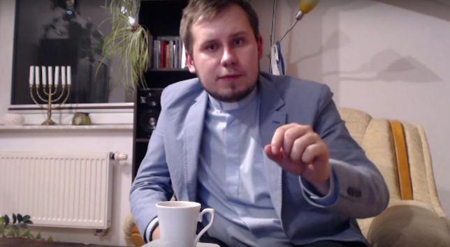 Ks. Łukasz Kachnowicz udzielał się m.in. na Youtube