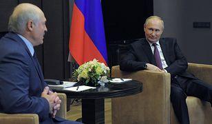 Rosja. Putin obiecał wsparcie reżimu Łukaszenki