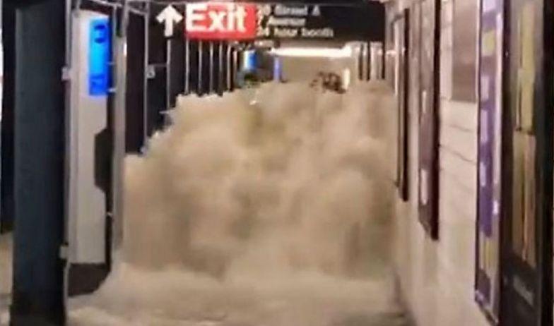 Horror w Nowym Jorku. Przerażające sceny z metra