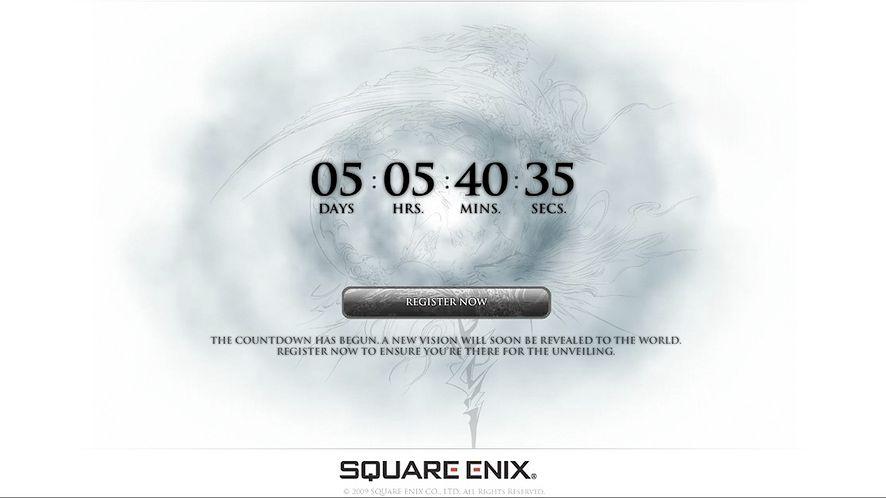 Square Enix oryginalnie promuje nadchodzące Final Fantasy XIII