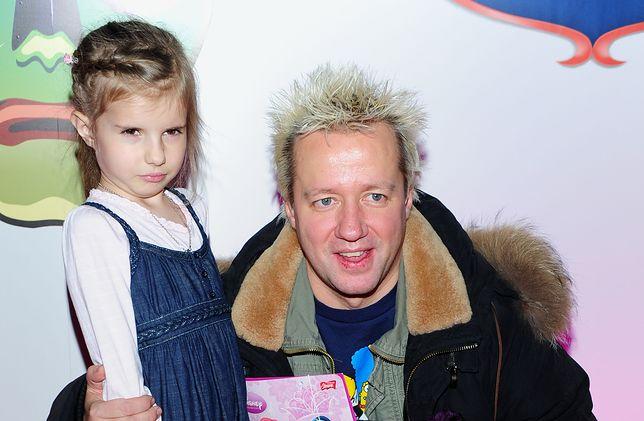 Robert Leszczyński z córką Vesną, 2009 r.