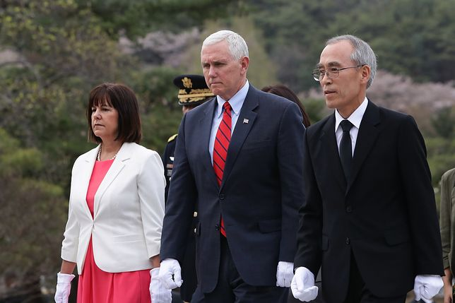 Wiceprezydent USA: próba balistyczna KRLD prowokacją