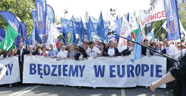 """""""Jesteśmy i będziemy w Europie"""""""