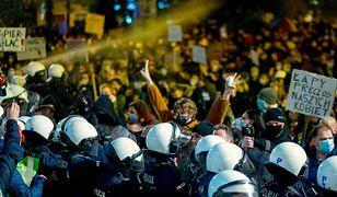Strajk Kobiet. Generał policji mówi o zaostrzeniu działań mundurowych