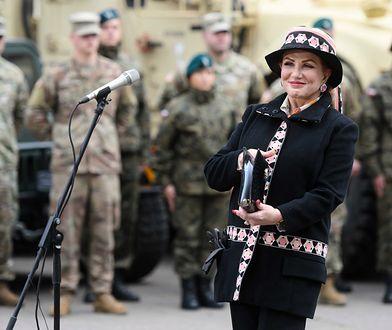 Ambasador USA Georgette Mosbacher w Poznaniu