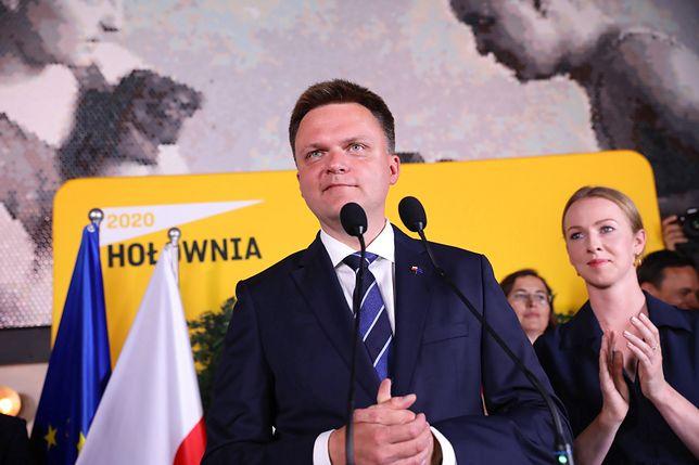 Wyniki wyborów prezydenckich 2020. Szymon Hołownia zapowiedział, że nie odejdzie z polityki