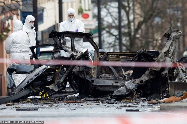 Irlandia Północna: IRA bierze odpowiedzialność za zamach bombowy w Londonderry