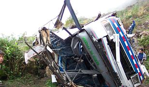 Kolejny tragiczny wypadek autobusu w Peru
