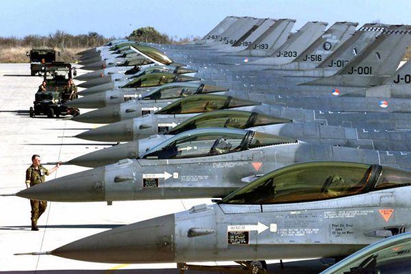 Holenderskie F-16