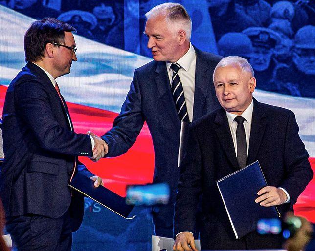 Koalicjanci Zjednoczonej Prawicy podpisali nową umowę (zdj. arch.)
