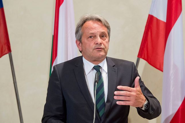 Minister obrony Austrii Hans Peter Doskozil