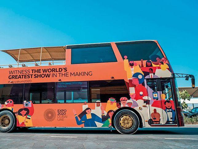 Dubai Expo 2020. Turyści mogą skorzystać z bezpłatnych wycieczek autobusowych