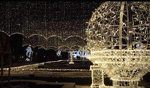 Słupsk rozbłysnął 130 tysiącami światełek. To wideo musisz zobaczyć