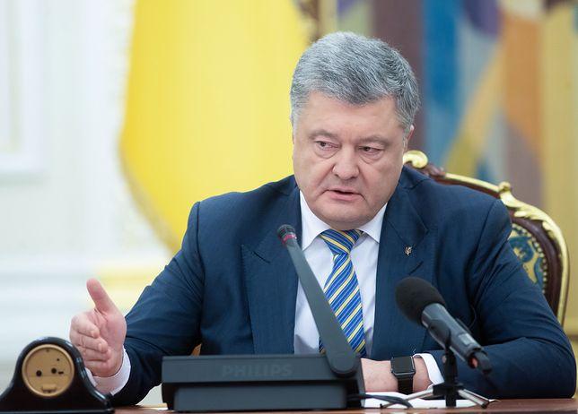 """Petro Poroszenko: """"To nie są zabawy. Ukrainie grozi inwazja Rosji"""""""