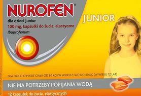 Kapsułki do żucia z ibuprofenem - idealnie sprawdzą się dla starszych dzieci