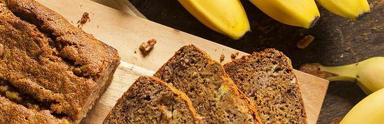 Chlebek bananowy - przepis, historia, właściwości bananów