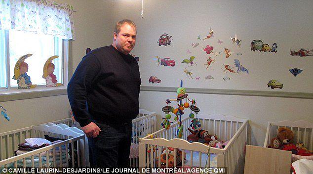Paul w pokoju dziecięcym/ dailymail