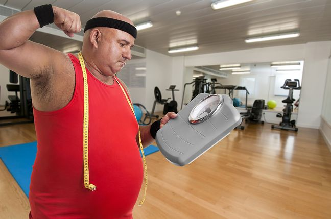 Zrzucenie nadwagi
