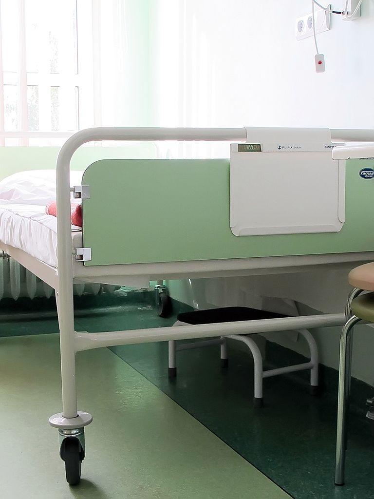 Łóżko pacjentki