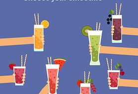 6 zdrowych składników do koktajli, których jeszcze nie próbowałaś