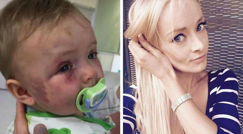 26-letnia kobieta dotkliwie pobiła swoje małe dziecko