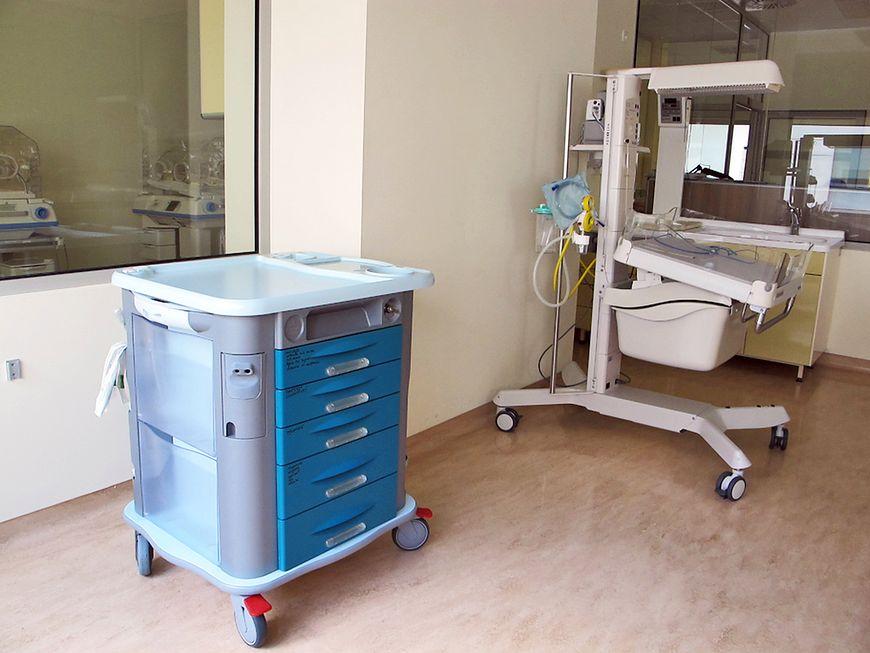 Miejsce wykonania pierwszych badań noworodka zaraz po porodzie