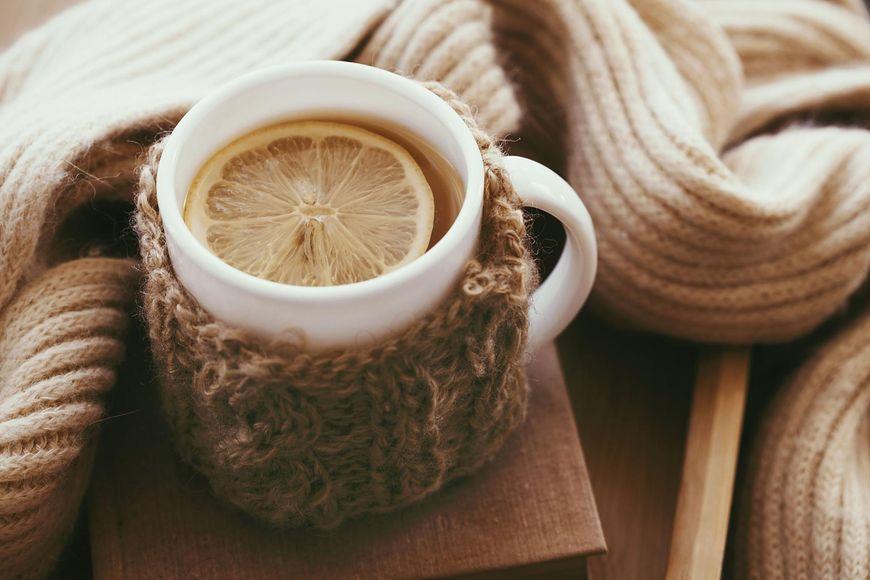 Herbata z cytryną jest dobra na przeziębienie
