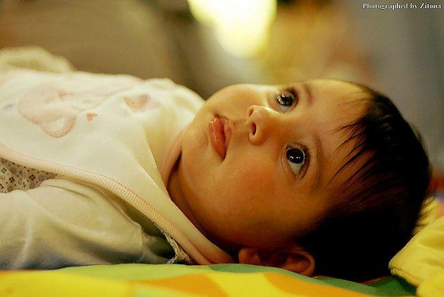 Trzymiesięczne niemowlę