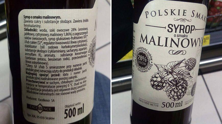 Syrop Polskie Smaki tylko z pozoru ma dobry skład