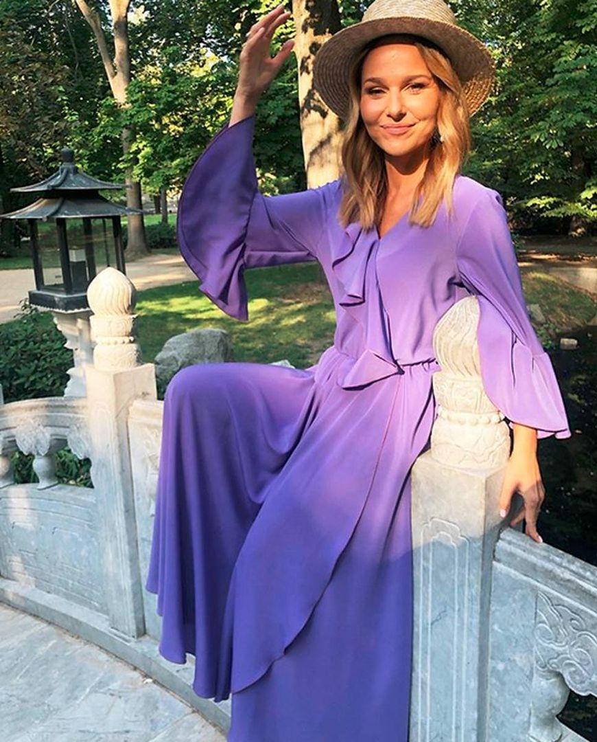 Lawendowa sukienka podbija Instagram!