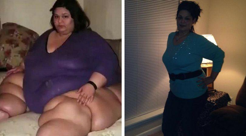 Mayry Rosales schudła ponad 350 kg