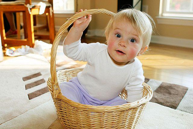 Dziesięciomiesięczne niemowlę
